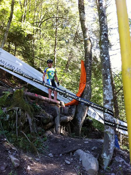 Canada at MTB Worlds 2011-champerygap.jpg