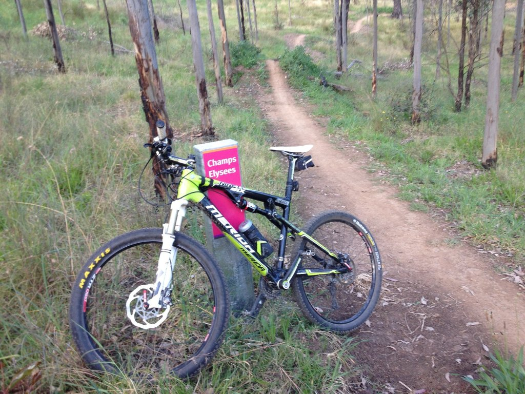 Show us a picture of your 26er MTB that you still use on the trails-champs-elyse.jpg
