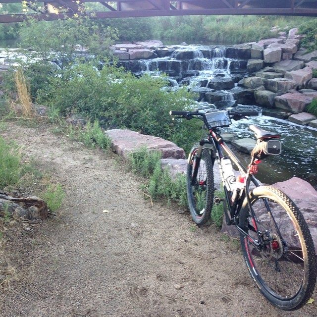 AZ Photo Friday - Aug 8, 2014 - Sneak Some Zucchini Onto Your Neighbor's Porch Night-cherry-creek-trail-waterfall.jpg