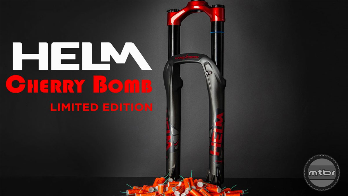 """Cane Creek Helm 27.5 """"Cherry Bomb"""" limited edition fork"""