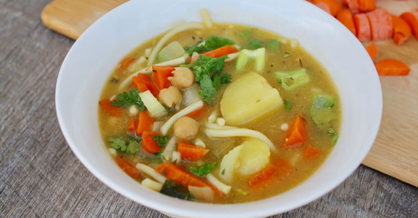 Vegetarian / Vegan / Raw recipes & chat-chickpea-noodle-soup-1.jpg