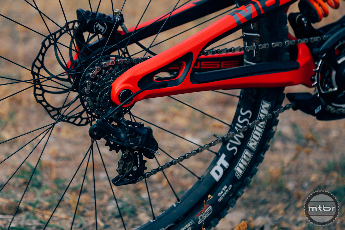 The SRAM X01 DH groupset only goes to 7.