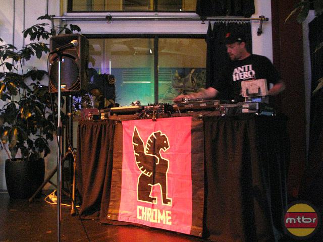 Chrome ARTCRANK - DJ ORB