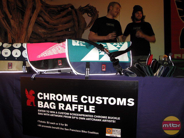 Chrome Custom Bag Raffle