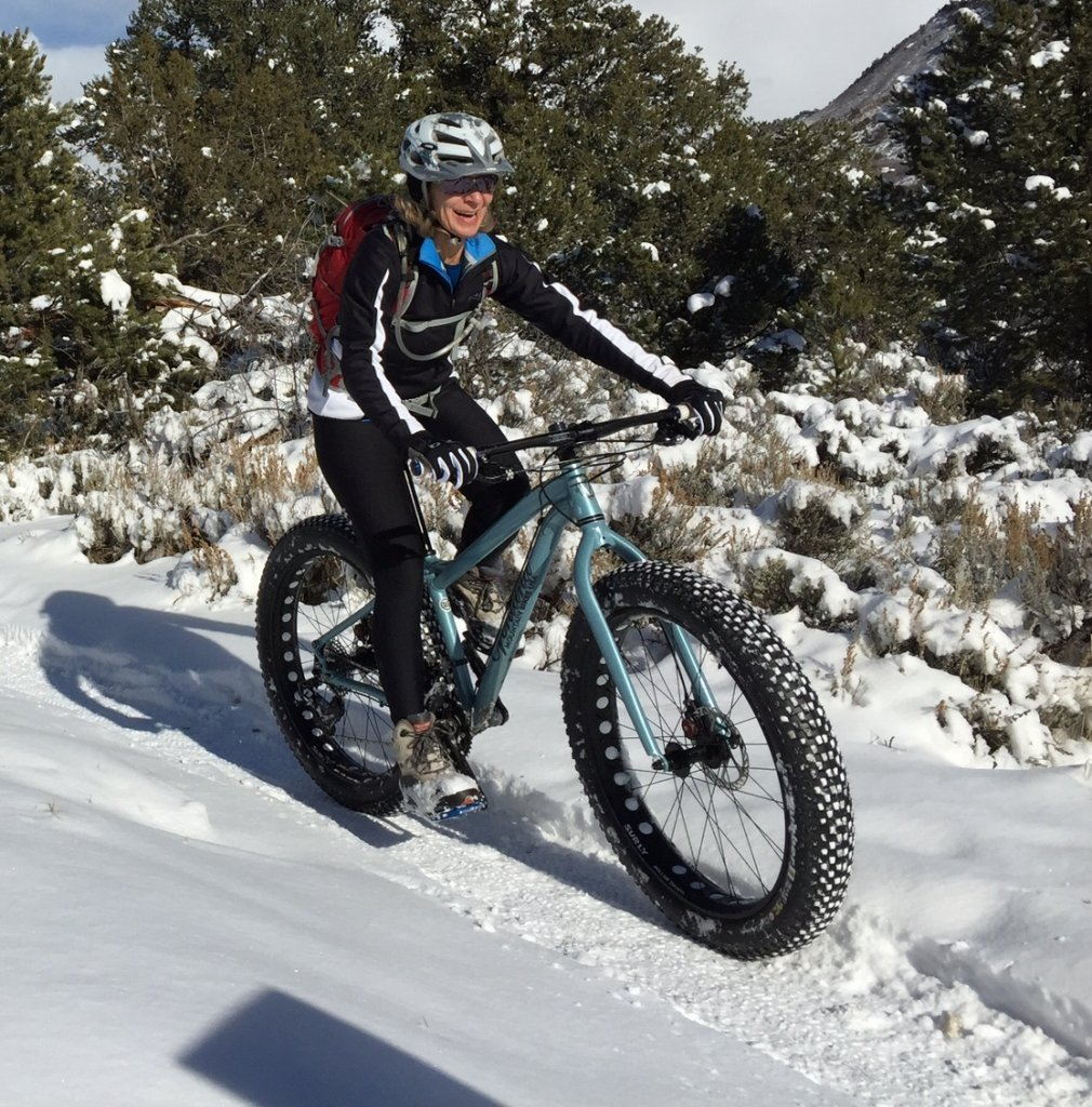The Mrs. on her new El Gordo-cindyfatbike.jpg