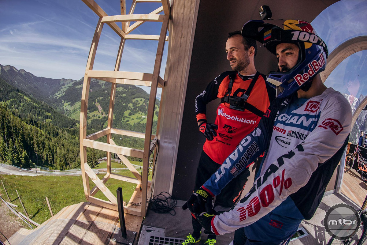 Claudio and Marcelo Leogang 2017