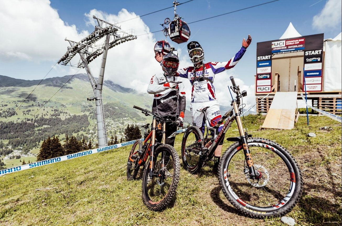 Legends Claudio and Peaty take us on a preview of the Lenzerheide DH WC.
