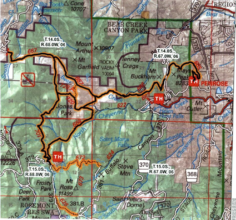 Pike National Forest Closes Trails To All Users- Mtbr.com