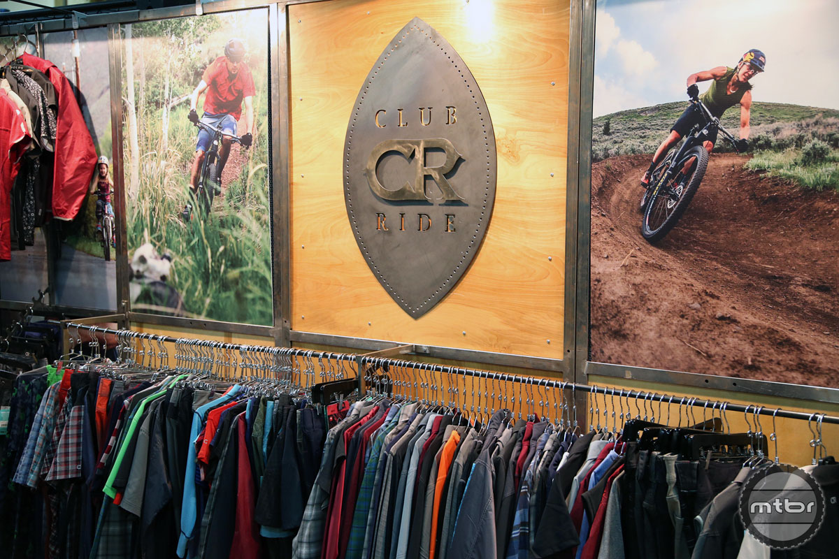 Club Ride Apparel Interbike 2015 Booth
