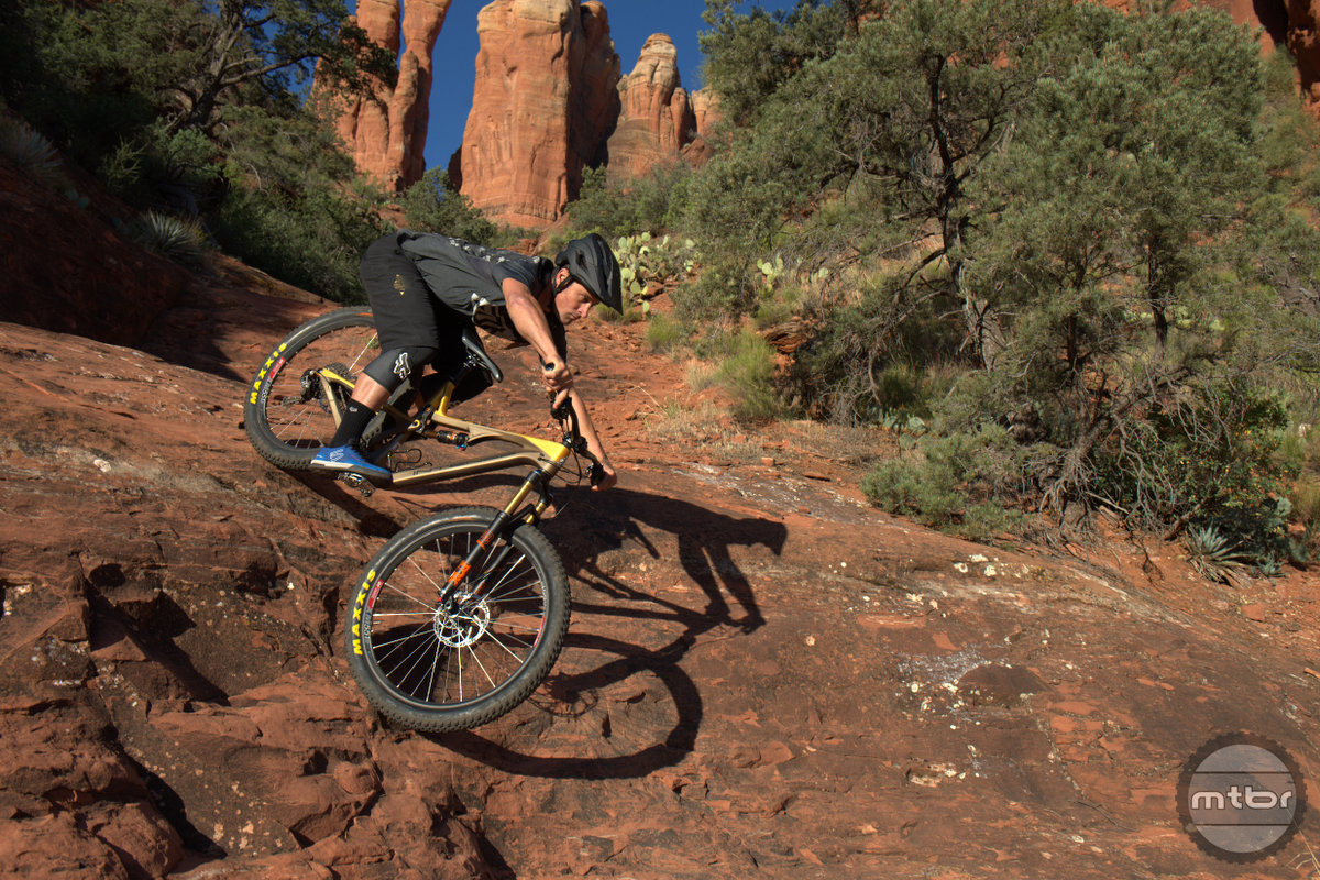 The ACV is ideal for the technical trails of Sedona.