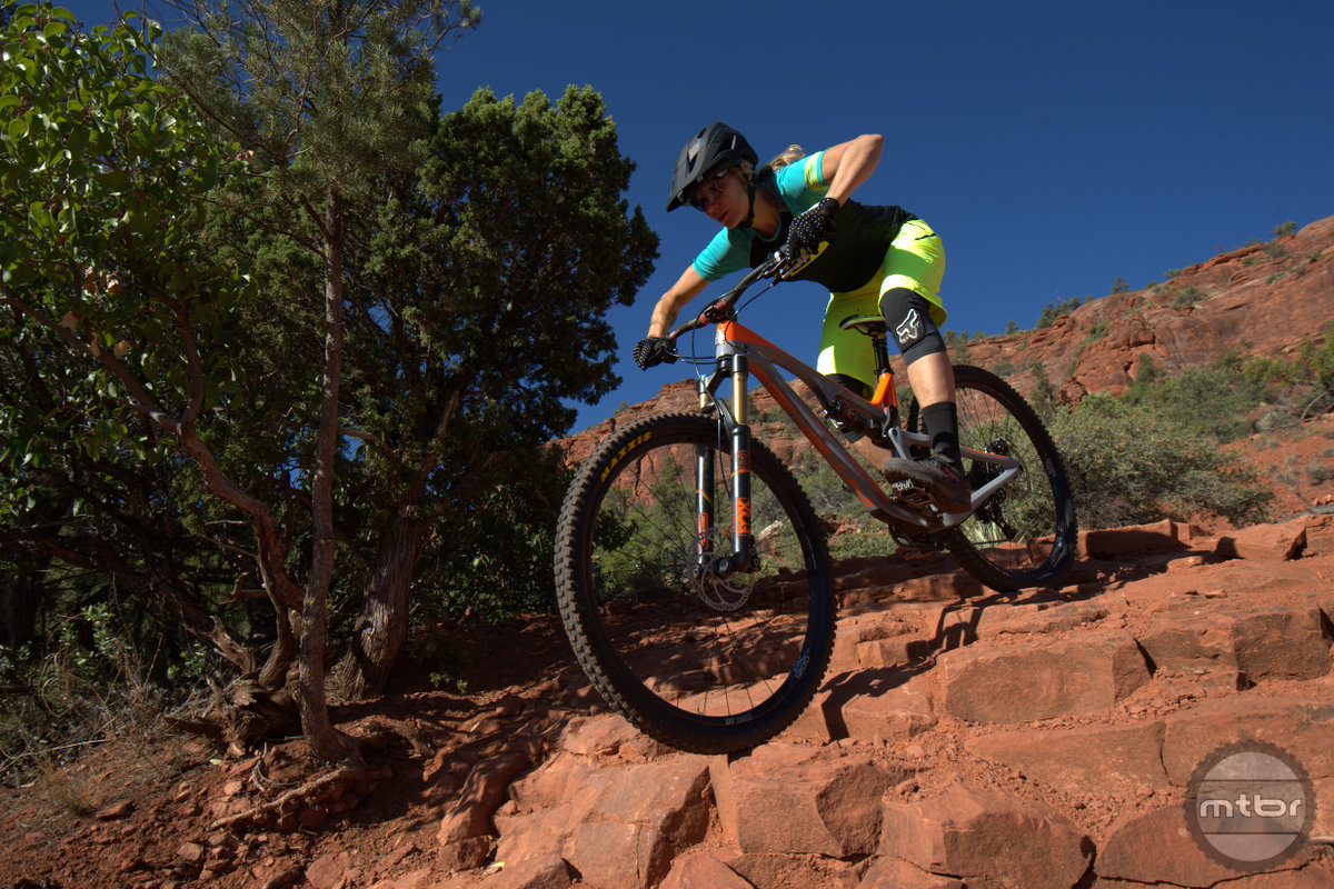 Intense Primer 29er is stable and forgiving in tech terrain.