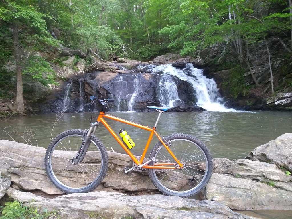 Post Pictures of your Steel Bikes!-cochran_mills_falls.jpg
