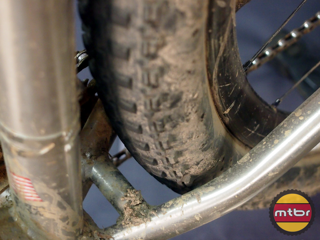 Litespeed Cohutta - tire clearance