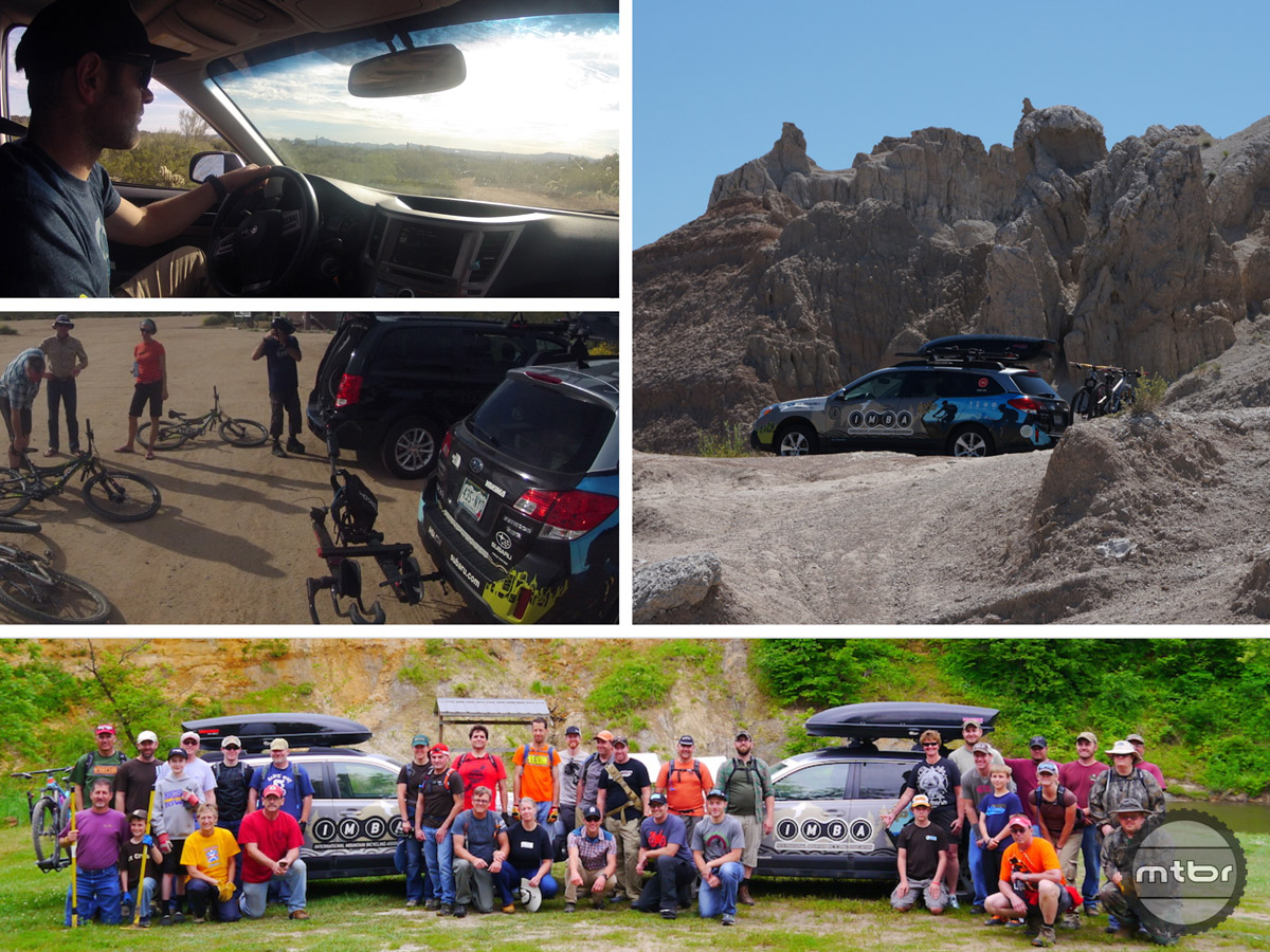 Our trusty Subaru Outback has taken us many places, allowed us to meet many great people, and ride some of the best trails in the country.