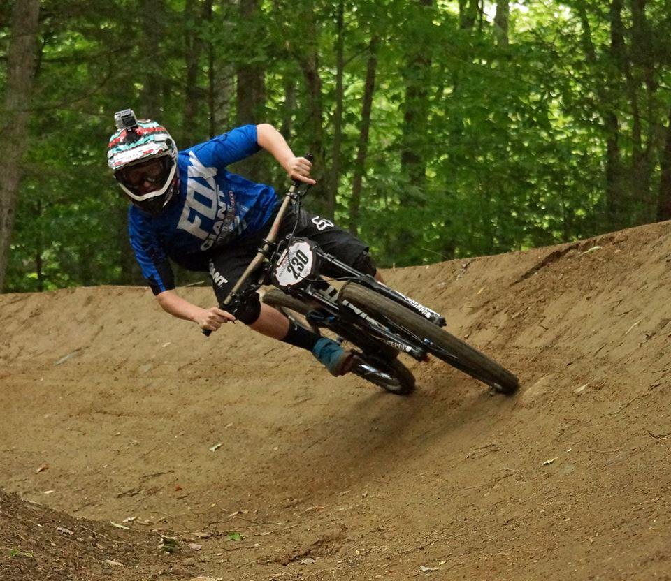 Berkshire East bike park ~ coming summer 2015!-collin-railing-berm.jpg