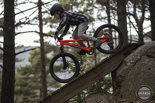 Commencal offers a wide range of kid specific bikes. They've got everything from push bikes to full suspension.