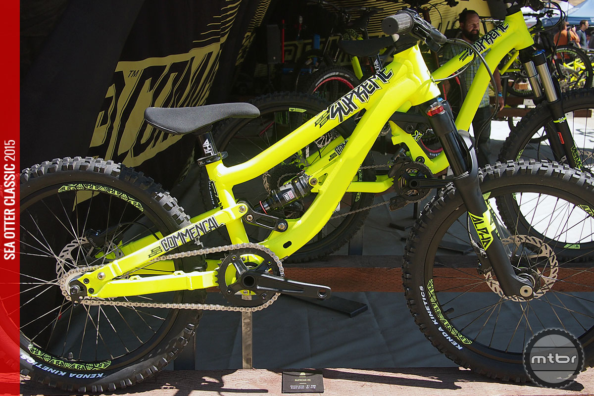 The Commencal Supreme 20 is a great looking dualy with a palatable price tag.