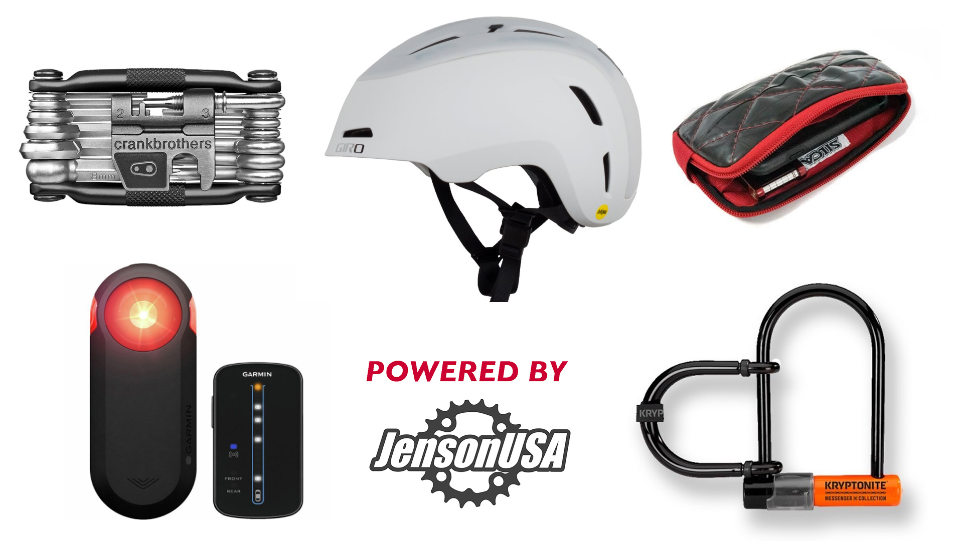Power to the pedals: check out these great gifts for cycling commuters.
