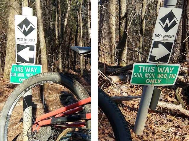 Allatoona Creek trails-confused_signs.jpg