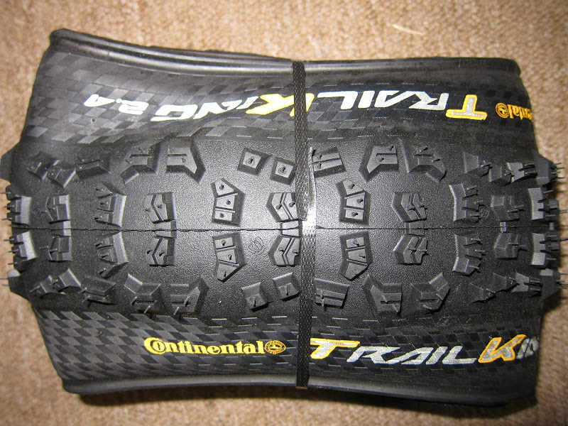 "Conti 2013 - Trail King Tread Closeup: 27.5""x2.4"""