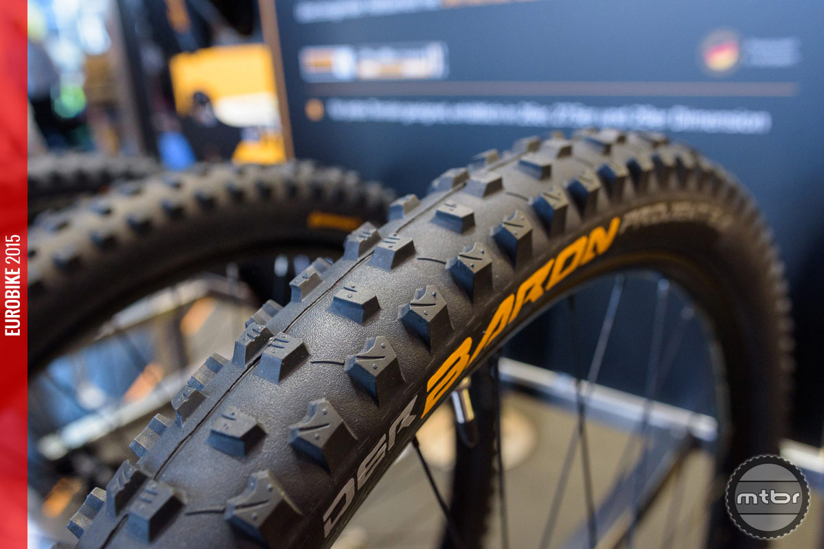 Der Baron – the new rugged Continental enduro tire.