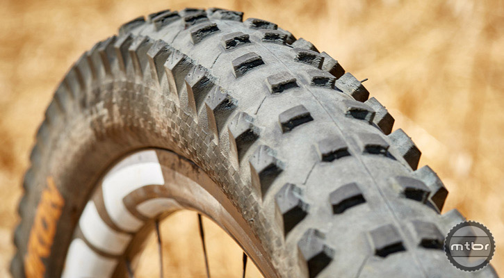 For the duration of this test, these tires held up incredibly well to some very unforgiving terrain. Photo courtesy of Art's Cyclery