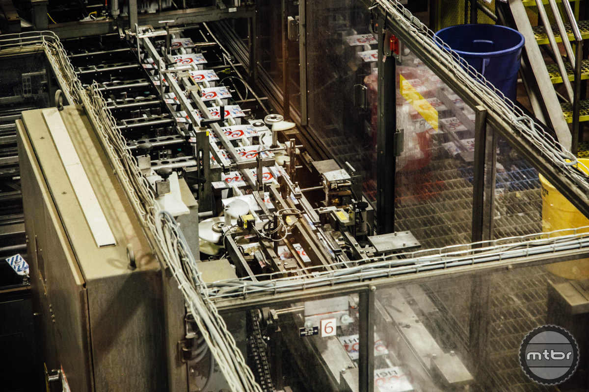 The carton assembly line in particular was mesmerizing.