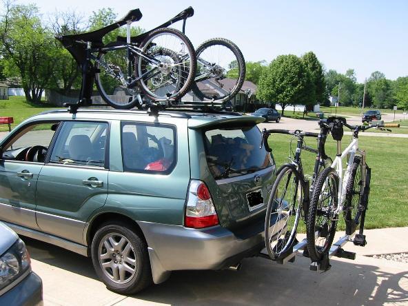 Roof Or Hitch Subaru Forester Mtbr Com