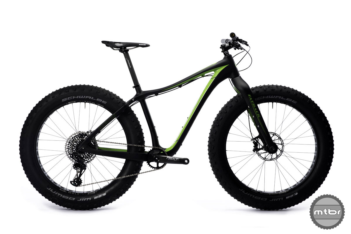 The bike comes in six different build kits.