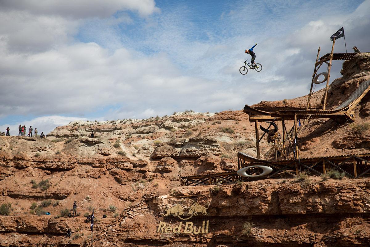 Kyle Strait Oakley Sender No-Hander - 2013 Red Bull Rampage Finals