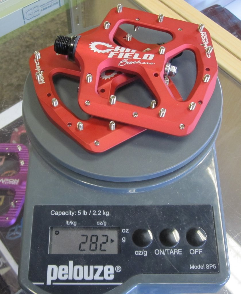 Introducing the Canfield brothers Crampon Magnesium Pedal!-crampon-mag-weight.jpg