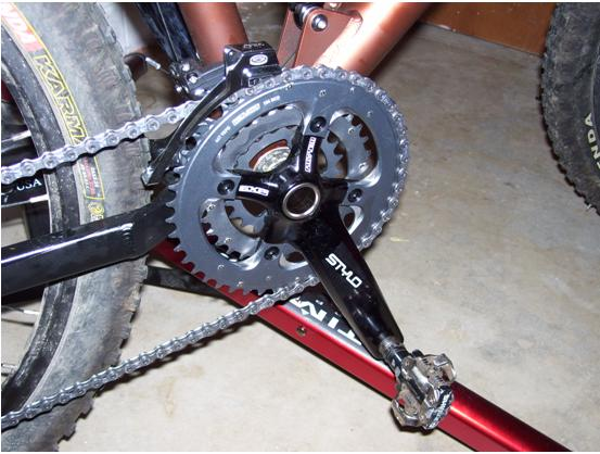 KHS xc 204 bike build-crank.jpg