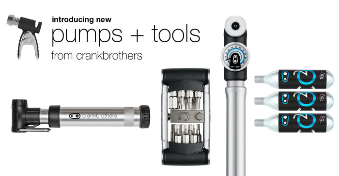 crankbrothers Sterling Pumps, B-Series Tools, Gem Pumps and Sterling CO2