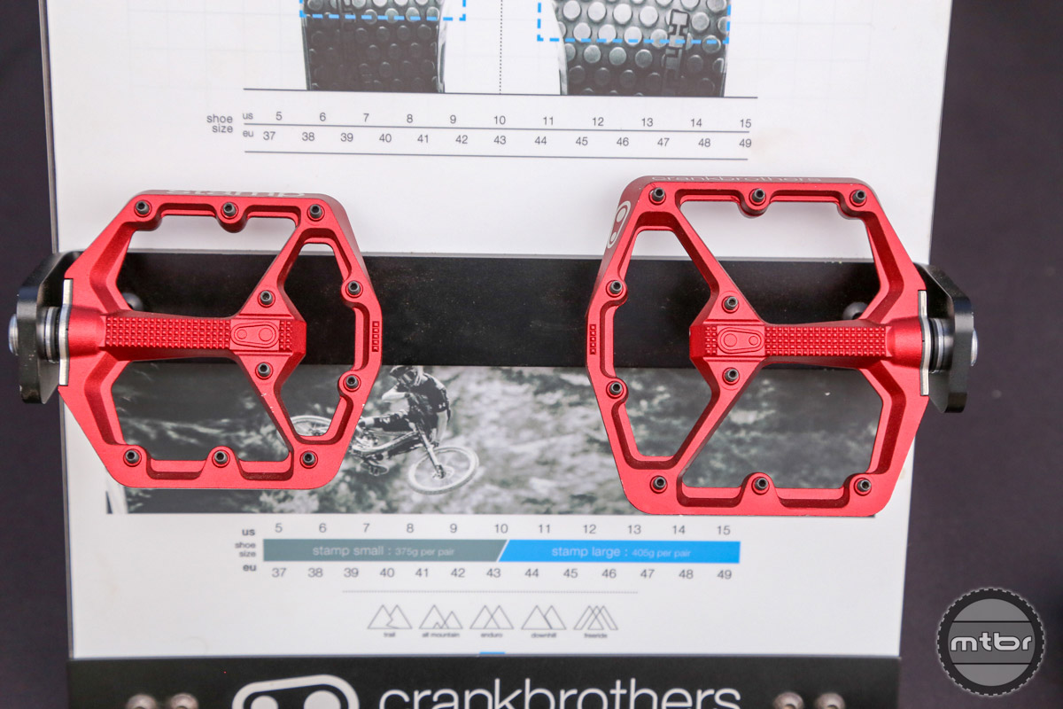 The new Stamp pedals are available in two sizes - both of which include an integrated bottle opener.