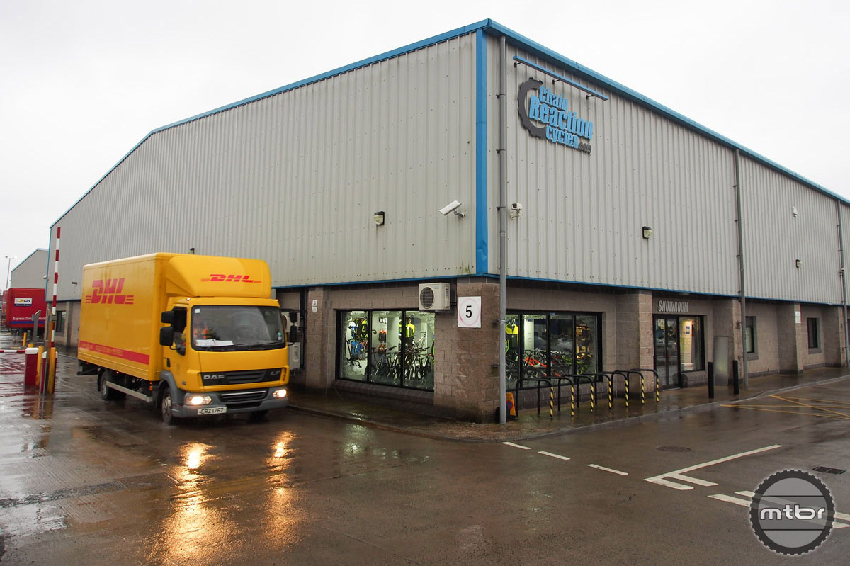The U.S. is one of the largest customers for on-line retailer Chain Reaction Cycles, which is based in suburban Belfast in Northern Ireland.