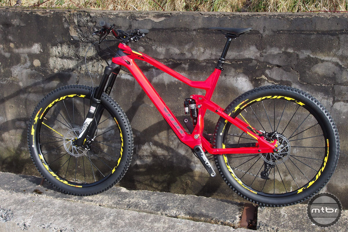 Vitus Launches Carbon Sommet Cr And Crx 27 5 Trail Bikes