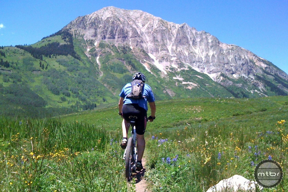 Backcountry should be open for all human-powered transport. Photo courtesy Sustainable Trails Coalition