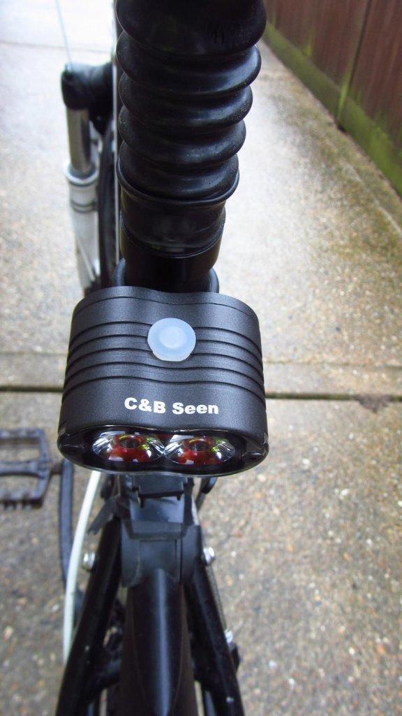 REVIEW: CB SEEN City Slicker Twin LED 500 Lumen, Rear Bike ...