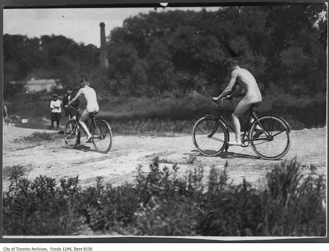 E.C. Throwback Thursday-cycling-beside-don-river-between-don-mills-road-leaside.jpg