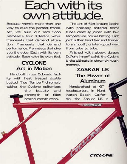 What year did G.T. discontinue using U-brakes? Also frame year?-cyclone-ad2.jpg