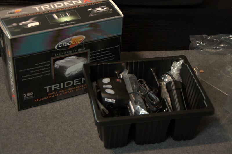 Cygolite TridenX 750 Box Contents