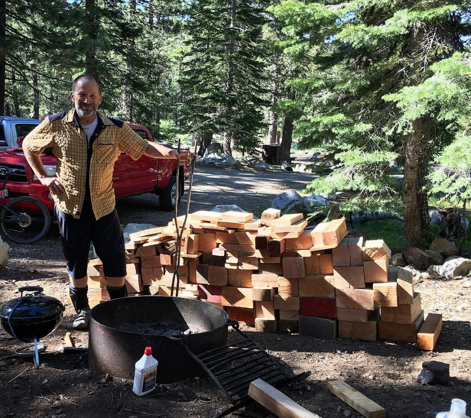 Downieville Gathering is almost here. June 24-26-dan_almost_managed_to_use_all_this_wood.__downieville__fire__mtbr.jpg