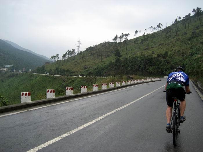 Dan near summit