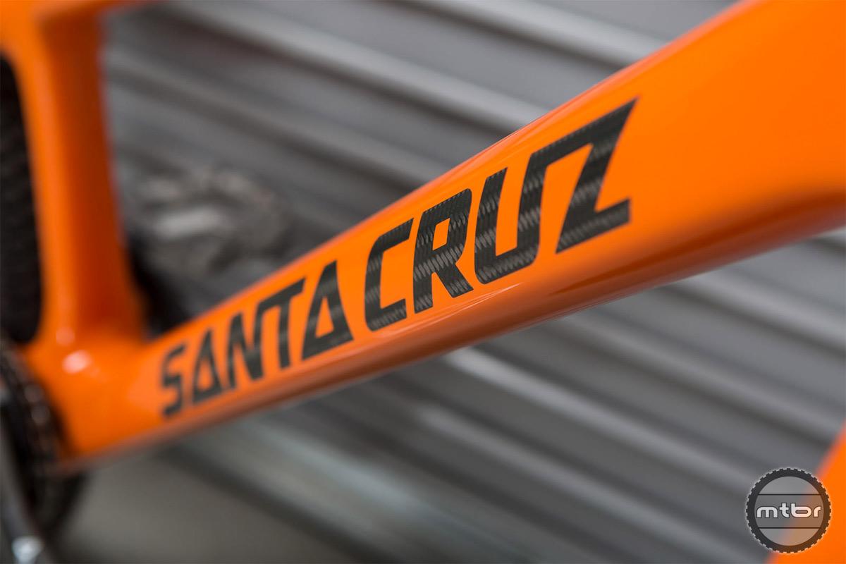 Danny MacAskill's Custom Santa Cruz