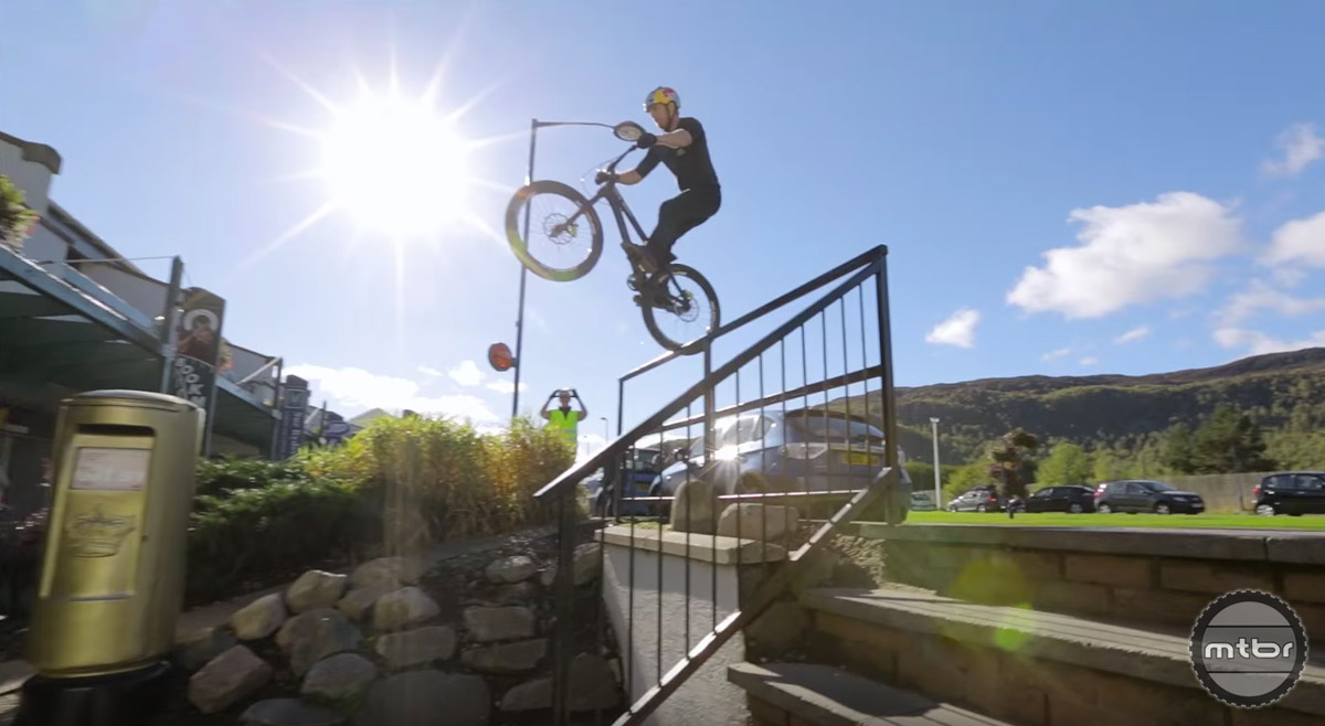 Is Danny MacAskill your favorite rider?