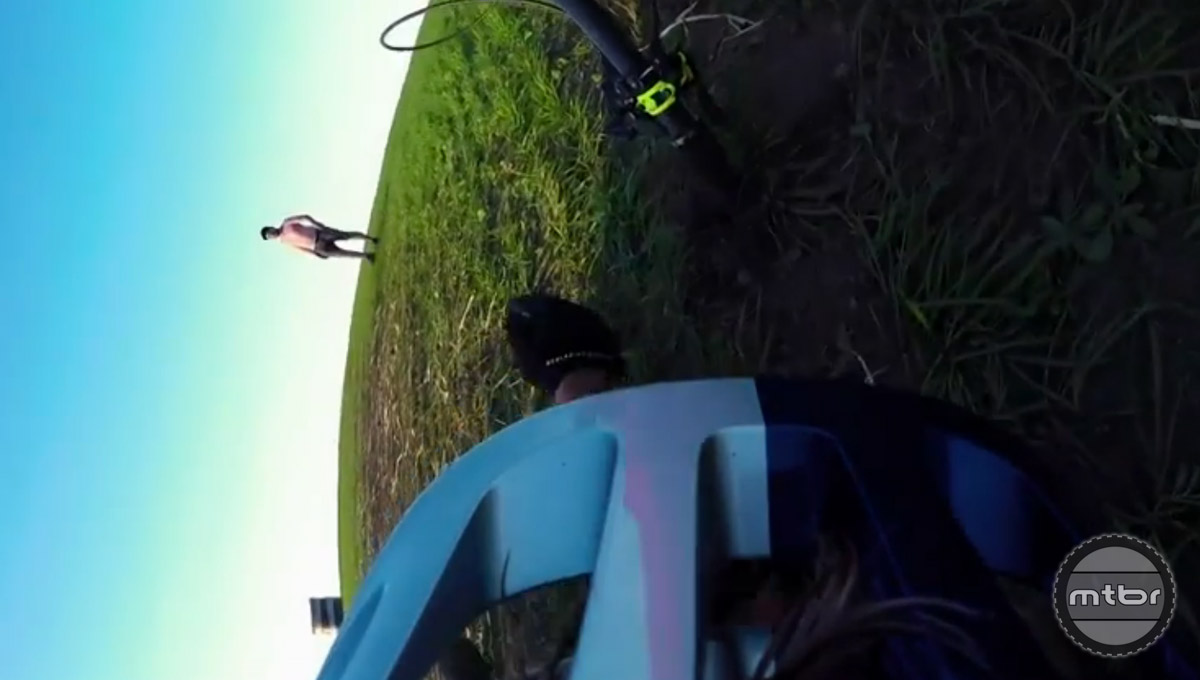 Danny claims he attempted the  450kg (~1,000 lb) hay barrel ride nearly 400x before finally landing it.
