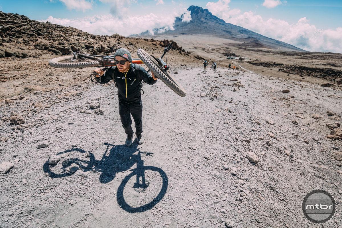 Danny MacAskill summits Mount Kilimanjaro