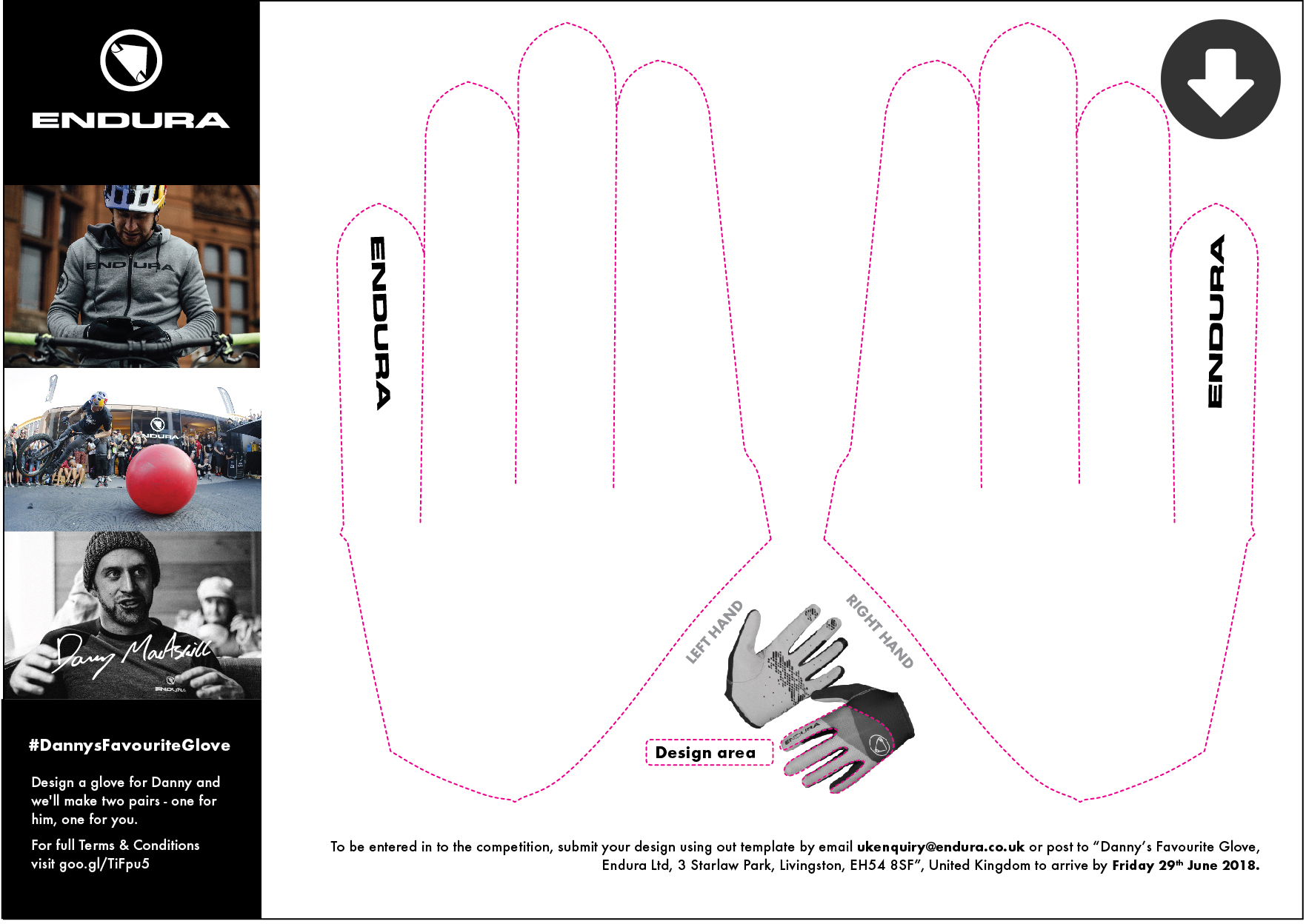 Help Design Danny MacAskill's New Gloves