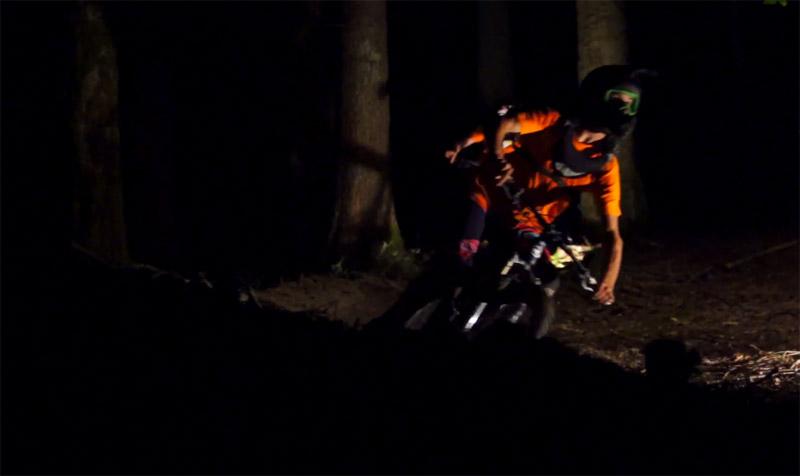 ShapeRideShoot: Dark Ride berm