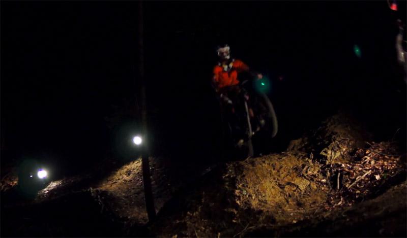 ShapeRideShoot: Dark Ride jump